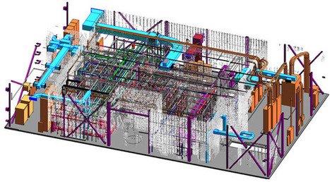 Point Cloud to Revit BIM:  Recreating As Built Environment | Building Information Modeling | Scoop.it
