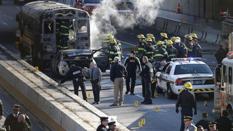Philadelphia Traffic Stop Ends in Bloodshed, Burning Bus - ABC News | CLOVER ENTERPRISES ''THE ENTERTAINMENT OF CHOICE'' | Scoop.it