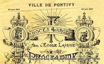 La communale à Pontivy de 1800 à 1940 : l'exposition est en ligne ! - Archives | GenealoNet | Scoop.it