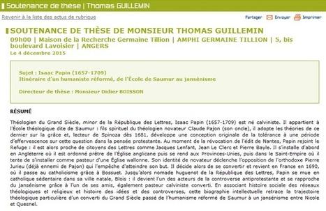 Bulletin d'information | Isaac Papin et moi… | UA Blogs | Scoop.it