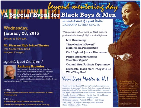 Beyond Mentoring Day // January 28th, 2015 // CAAAE, ESUHSD, SCCOE // http://bit.ly/beyondmentoring | Santa Clara County Events and Resources to Support Youth Development | Scoop.it