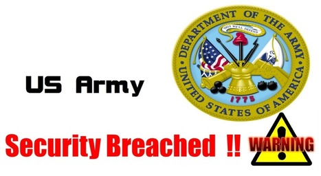 US Army Commands Databases Hacked, 36k People Info Breached Army should call the USAF for cyber help.... | Chinese Cyber Code Conflict | Scoop.it