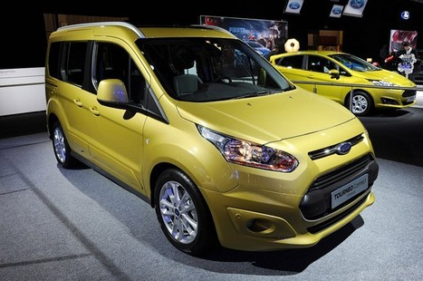 2014 Ford Transit Connect adds form to function [w/video]   Concept Cars, and new arrivals   Scoop.it