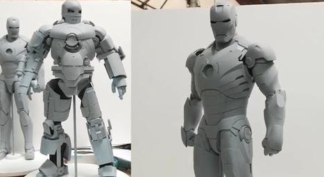 Print3d World: Legacy Effects. La impresión 3D revoluciona los efectos especiales en el cine (vídeo) | Impresión 3D y fabricación digital | Scoop.it