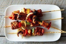 EAT: Vegan Tempeh Kabobs | My Vegan recipes | Scoop.it