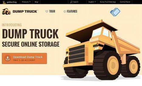 Dump Truck, 5 Gb para almacenamiento seguro de archivos en la nube y sincronización entre dispositivos   Recull diari   Scoop.it