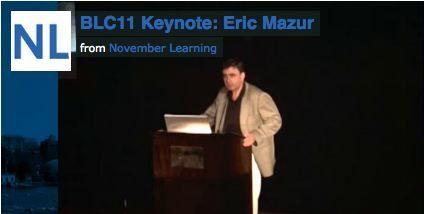 BLC11 Keynote: Dr. Eric Mazur | November Learning | Screencasting & Flipping for Online Learning | Scoop.it
