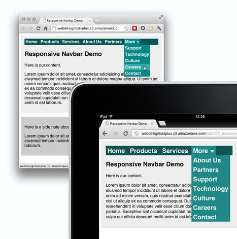 A Flexible Approach to Responsive Navigation | Webdesigntuts+ | Responsive Nav Bars | Scoop.it