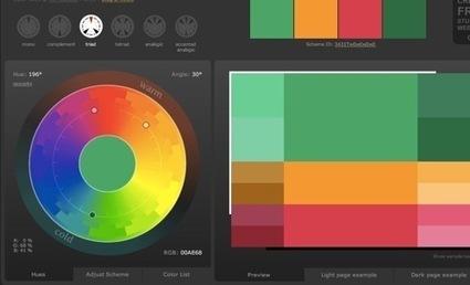 デザイナーの私が色選択に迷った時に使用している配色ツール・カラーチャートなどのまとめ | めもめも2nd | Scoop.it