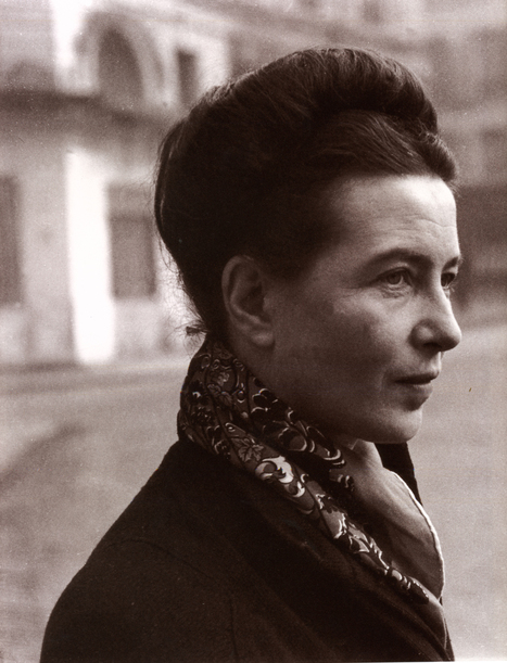 De Beauvoir Quotes: Feminism and Existentialism | Philosophy course and philosophers quotes | AP English Language Philosophy Sources | Scoop.it