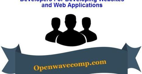 Why choose Openwave for hiring dedicated resources? | Web Application Development Company | Scoop.it