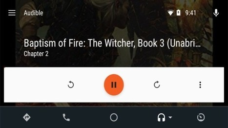 Audible App Updated With Android Auto Support, Adjustable Playback Speed, And More | Ebook and Publishing | Scoop.it