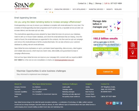 Email Appending from Span Global Services | Digital Marketing | Scoop.it