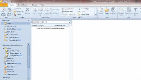 Si vous n'utilisez pas ces 7 fonctionnalités, c'est que vous sous estimez les possibilités d'Outlook | Outils, applis, astuces | Scoop.it
