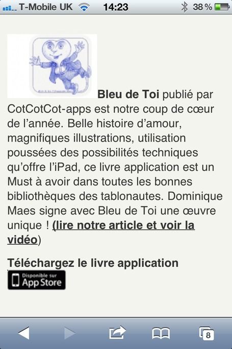 Best Of 2012 des meilleures applications et livres numériques enfants | IDBOOX | Must Read articles: Apps and eBooks for kids | Scoop.it