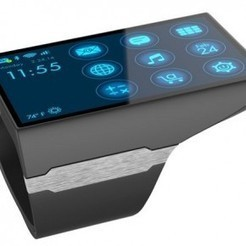 Rufus Cuff Is The Phablet Of Smartwatches - The Droid Guy | digital jewelry jewellrey | Scoop.it