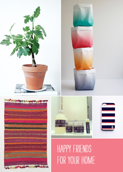 5 Happy Inspirations: For Your Home | Interior Design & Decoration | Scoop.it