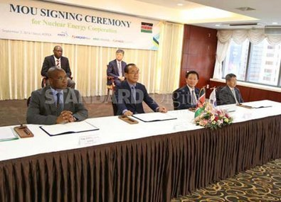 Kenya signs nuclear power deal with South Korea | CBRN | Scoop.it