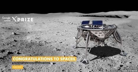 Israeli Google Lunar XPRIZE Team Is First to Sign Launch Agreement For Private Mission to the Moon On SpaceX Falcon 9 | The NewSpace Daily | Scoop.it