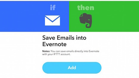 Get Evernote's Email to Evernote Feature Back for Free with IFTTT – Actu Live | Evernote | Scoop.it