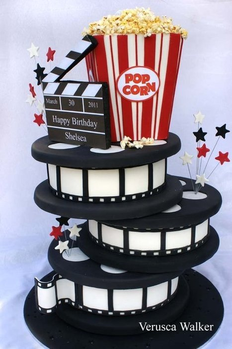 Cinema Cake | Just Chocolate!!! | Scoop.it