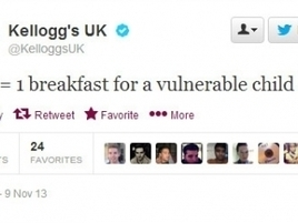 Kellogg's Apologizes for Promising to Feed Hungry Kids Only If You Retweet | world news | Scoop.it