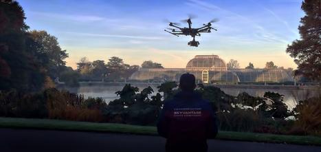 Stunning aerial filming of Kew Gardens using UAV drones | drone filming | Scoop.it