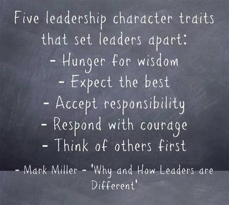 Twitter / mrkrndvs: 'Why and How Leaders are ... | Learning about Leadership | Scoop.it