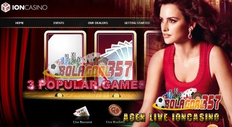 LIVE IONCASINO | Agen Judi Bola Casino Poker Togel Online Terpercaya | Bandar Judi Online Terpercaya | Scoop.it