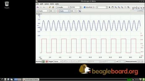 PicoScopes now run on BeagleBone Black #BeagleBoneBlack @TXInstruments @BeagleBoardOrg | Raspberry Pi | Scoop.it