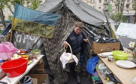 Ukraine's Maidan protesters: 'The revolution is not finished yet'  - Telegraph | Russian - Ukrainian conflict, missing facts | Scoop.it