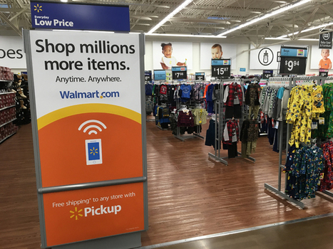Comment Walmart digitalise l'expérience-client… | Innovation dans la distribution | Scoop.it