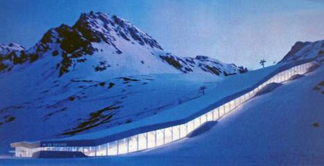 Tignes espère construire le premier ski dôme dans les Alpes   Les evolutions de l'offre touristique   Scoop.it