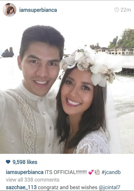 'Twas Truly a Beautiful Moment in Paradise: Bianca Gonzalez and JC Intal Tied the Knot in El Nido, Palawan | Beach Resort Philippines | Coolsculpting | Scoop.it