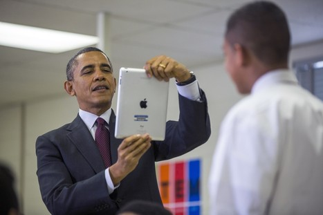 Obama to students: If coffee shops have Wi-Fi, so should your school | Things Outside | Scoop.it