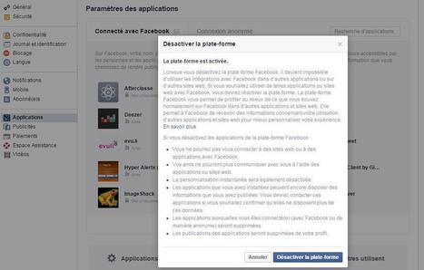 [Astuce] Comment désactiver d'un coup toutes les applications Facebook ? | Social Media Curation par Mon-Habitat-Web.com | Scoop.it