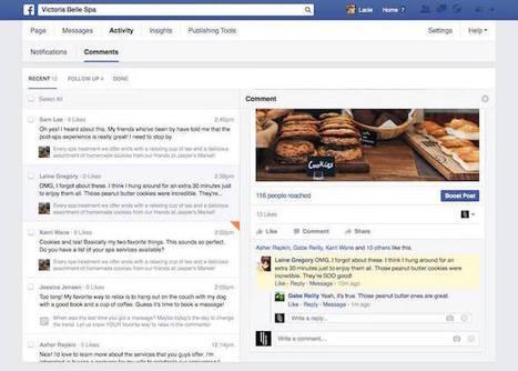 Facebook : 4 nouveautés pour la gestion des pages ! | Internet world | Scoop.it