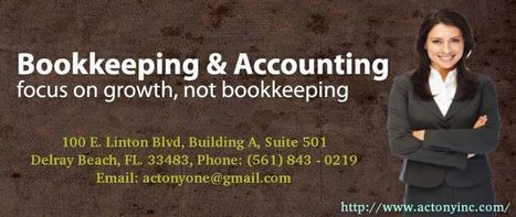 Bookkeeping & Forensic Accounting | CPA and Tax Consulting | Scoop.it