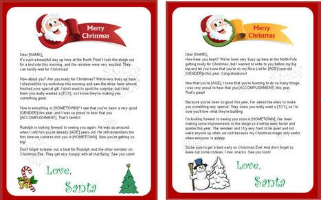 Free Letter From Santa Claus.net | Printable Santa letters | santa wohhooo | Scoop.it