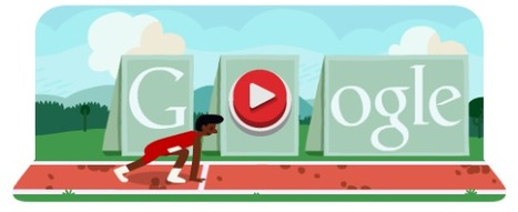 Londra 2012, doodle animato per i 100m e i 110m ostacoli su Google | InTime - Social Media Magazine | Scoop.it