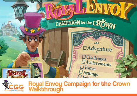 Royal Envoy: Campaign for the Crown Walkthrough: From CasualGameGuides.com | Casual Game Walkthroughs | Scoop.it