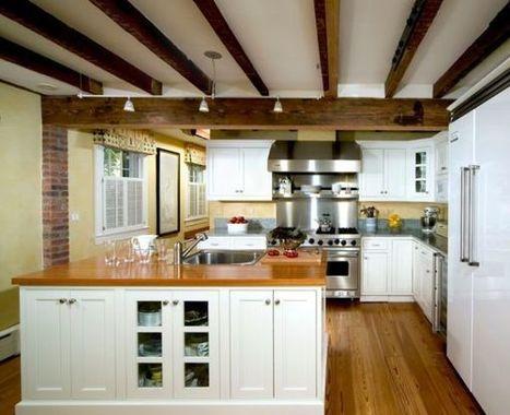 Preciosas cocinas rusticas con vigas de madera en el techo. | Mil ideas de Decoración | Carpintería y Tic's | Scoop.it