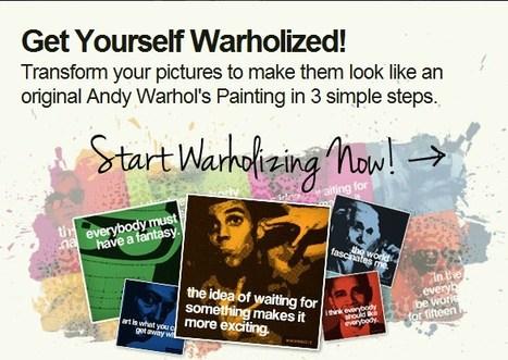The Warholizer. Warholize your favourite pictures online at www.warholize.me | KgTechnology | Scoop.it