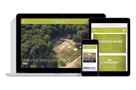 Un nouveau site internet pour Bibracte   Destination Saône-et-Loire   Scoop.it