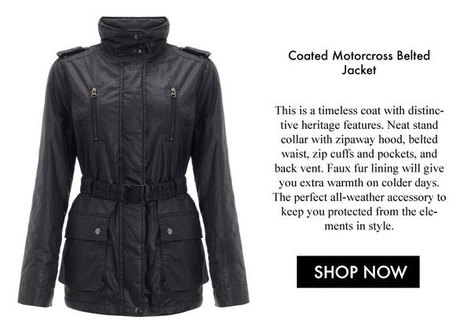 It's Time to Invest in Your Perfect Jacket for Winter • Jigsaw Says Blog | Womens Fashion | Scoop.it