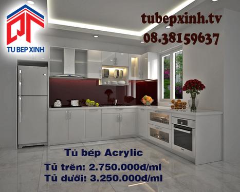 Tủ bếp Acrylic nhà chị Châu tại Bình Dương | Tủ bếp, tủ bếp hiện đại với thiết kế đẹp, mang niềm vui đến gia đình bạn | Scoop.it
