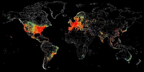 This Map Shows Everything On The Internet At Once | IB GEOGRAPHY GLOBAL INTERACTIONS | Scoop.it