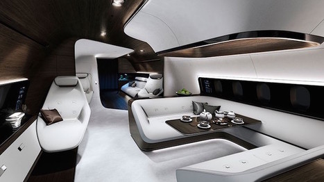 Mercedes Benz Partners with Lufthansa to Create Spectacular Luxury Airplane | Le It e Amo ✪ | Scoop.it