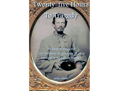 "Author Jamie Gillum at Maury County Library June 19, to discuss ""Twenty-Five Hours to Tragedy."" 