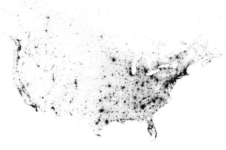 Census Dotmap   Cassetta Geography   Scoop.it